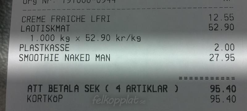 Smoothie Naked Man