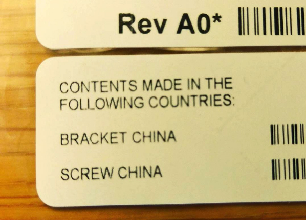 Screw China (foto: @jmkhenka / Instagram